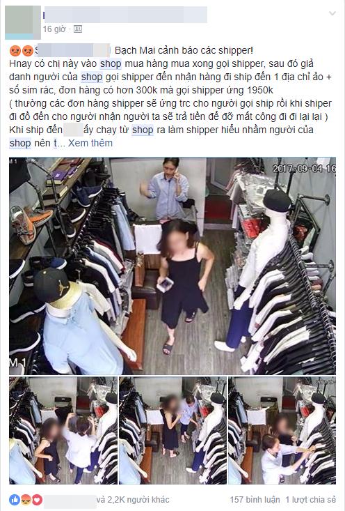 Hot girl giả làm nhân viên shop, lừa hàng loạt shipper ứng trước tiền triệu bằng những đơn hàng ảo - Ảnh 1.
