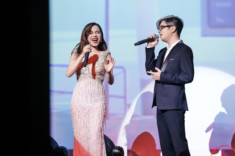 Hồ Ngọc Hà - Giang Hồng Ngọc - Bùi Anh Tuấn khiến khán giả nổi da gà khi lần đầu tiên hoà giọng cùng nhau - Ảnh 14.