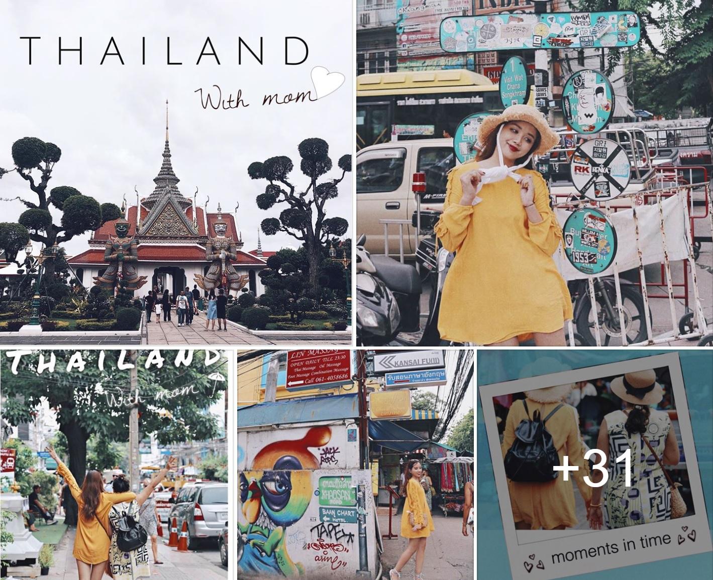 Xem bộ ảnh 9x đưa mẹ vi vu Thái Lan mới thấy mẹ cũng thích đi, thích sống ảo như ai! - Ảnh 1.