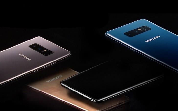 Dù iPhone X sắp ra mắt nhưng Galaxy Note8 vẫn đạt được số lượng đơn đặt hàng khủng - Ảnh 1.