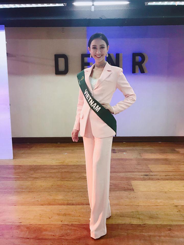 Đại diện Việt Nam - Hà Thu lọt Top thí sinh được Missosology đánh giá cao nhất tại Miss Earth - Ảnh 3.