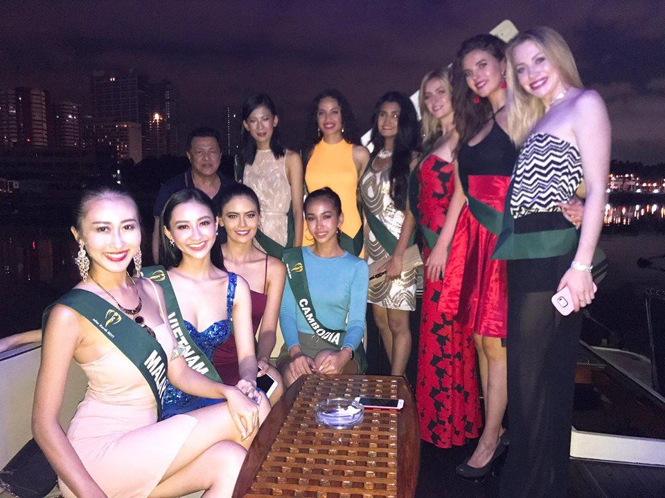 Đại diện Việt Nam - Hà Thu lọt Top thí sinh được Missosology đánh giá cao nhất tại Miss Earth - Ảnh 4.