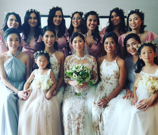 Thêm hình ảnh hiếm hoi bên trong đám cưới hoa lệ, sang chảnh của chị chồng Tăng Thanh Hà - Ảnh 4.