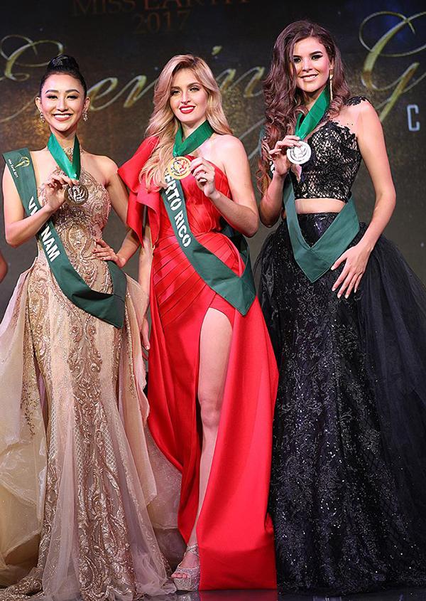 Giành giải đồng thứ hai, Hà Thu đang là ứng viên nặng ký cho vương miện Hoa hậu Trái đất 2017! - Ảnh 2.