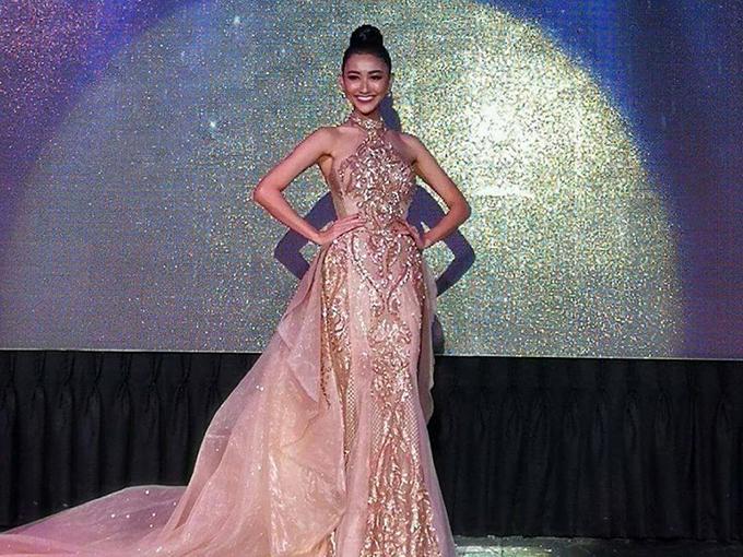 Giành giải đồng thứ hai, Hà Thu đang là ứng viên nặng ký cho vương miện Hoa hậu Trái đất 2017! - Ảnh 1.
