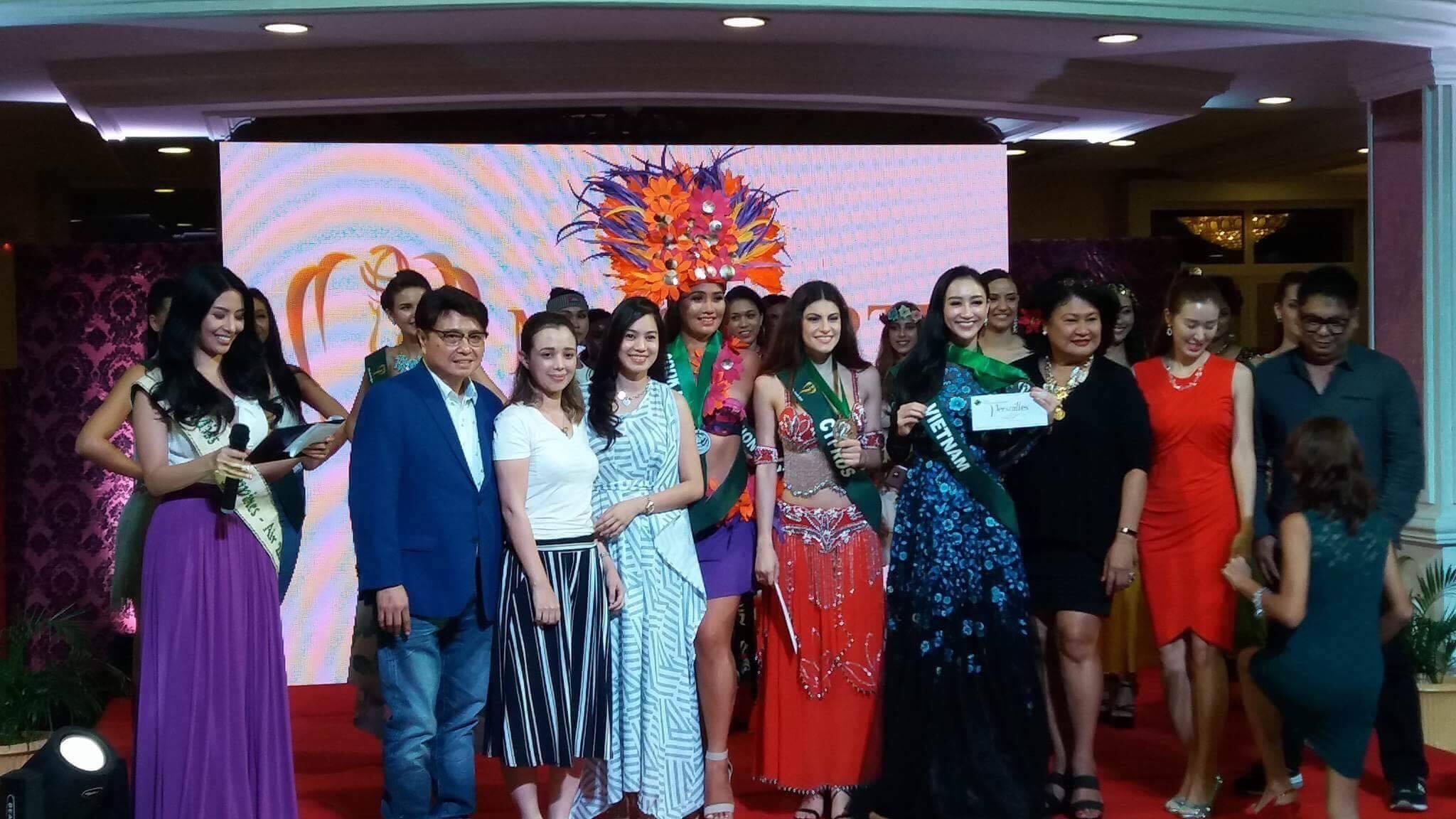 Hà Thu tiếp tục ghi điểm với giải đồng phần thi tài năng tại Hoa hậu Trái đất 2017 - Ảnh 2.
