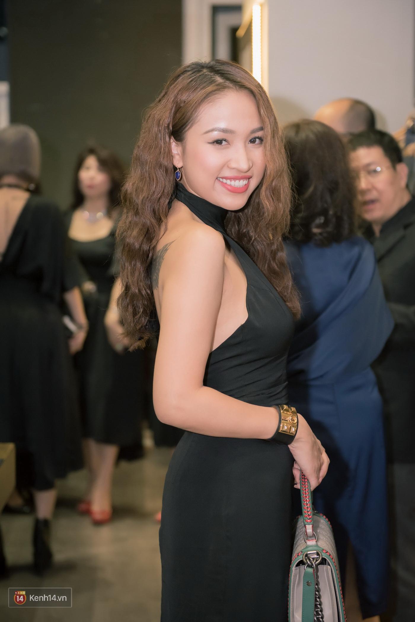 Thuỳ Chi dịu dàng, hội ngộ dàn người đẹp Hà thành tại sự kiện - Ảnh 5.