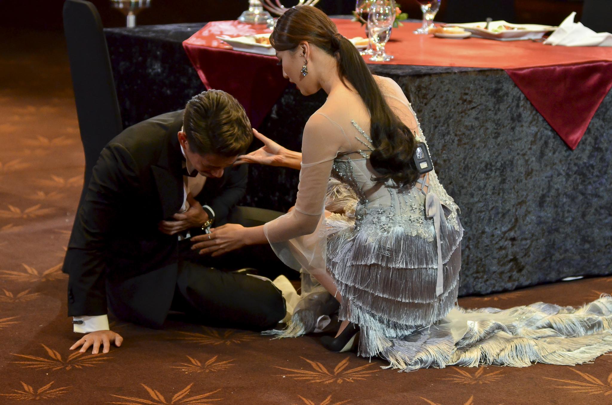 Thí sinh Hoa hậu Hoàn vũ VN khoe vẻ đẹp thuần khiết trong đồng phục trắng - Ảnh 12.