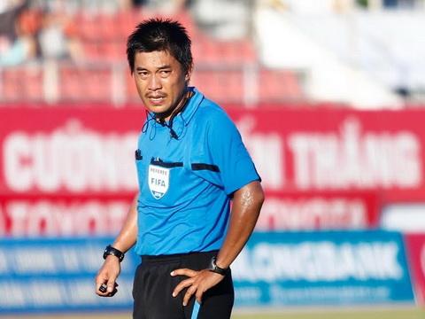 Cầu thủ Thanh Hóa bức xúc vì bị trọng tài từ chối bàn thắng - Ảnh 1.