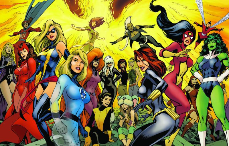 Dàn nữ siêu anh hùng của Vũ trụ Điện ảnh Marvel muốn có phim riêng - Ảnh 1.