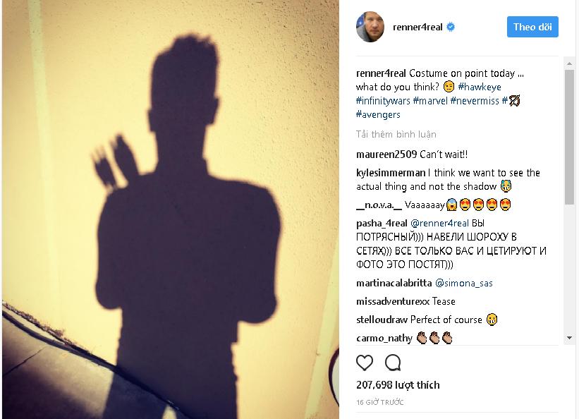 Chàng cung thủ Hawkeye sẽ quay lại trong Avengers 4 - Ảnh 2.