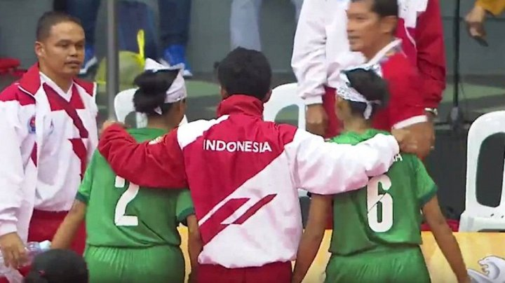 Cả đội cầu mây Indonesia bỏ thi đấu SEA Games 29 vì trọng tài xử ép - Ảnh 3.