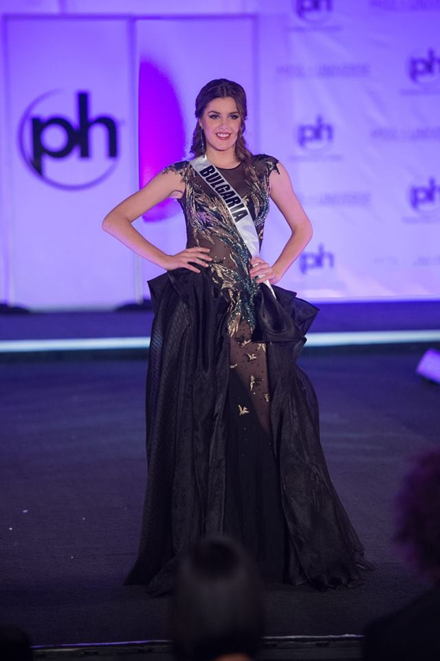 Trượt Top 16 Hoa hậu Hoàn vũ, nhưng may sao Nguyễn Thị Loan cũng không vào Top đầm dạ hội xấu nhất - Ảnh 1.