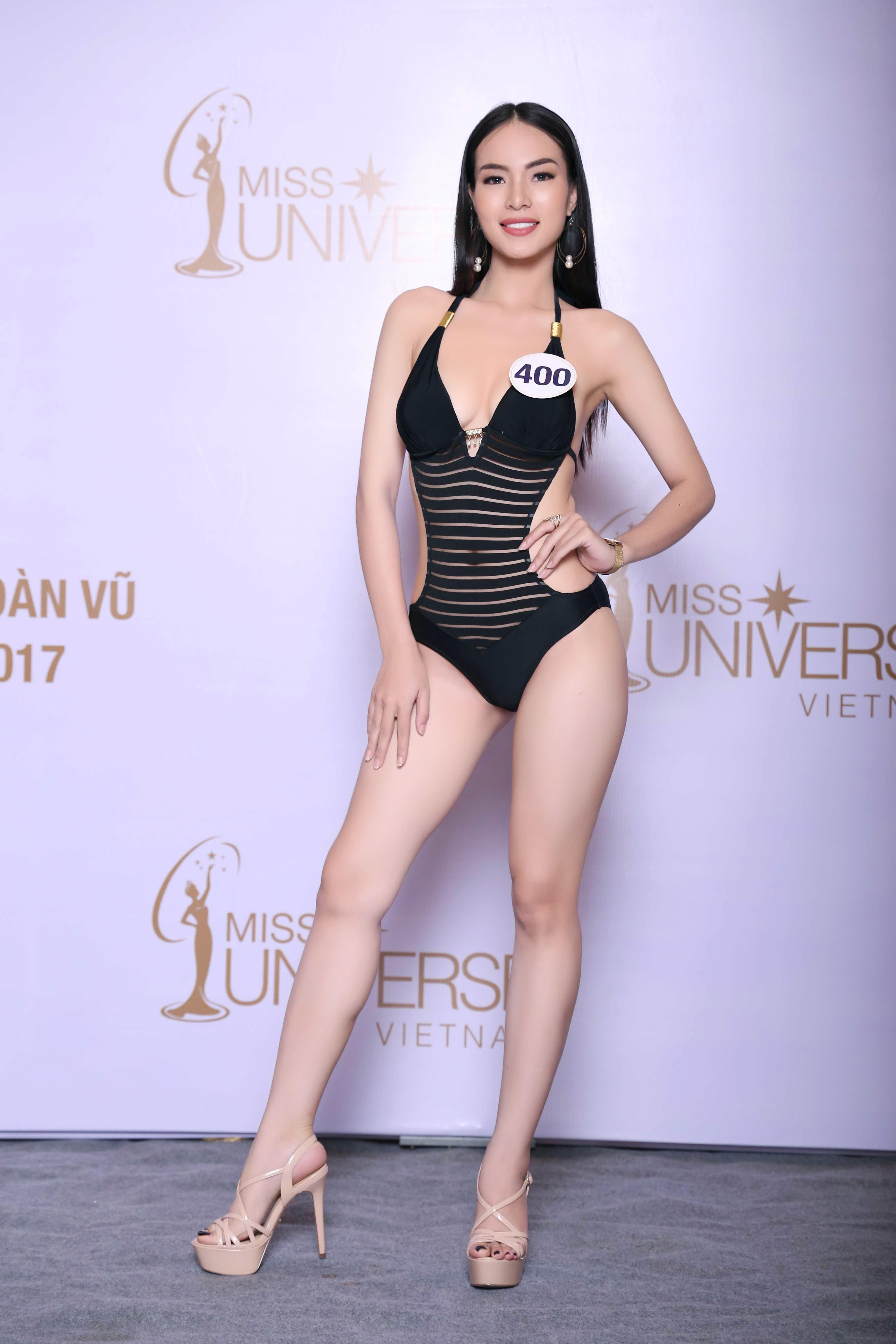Cận cảnh hình ảnh bikini của Hoàng Thùy, Mâu Thủy, Mai Ngô... tại Hoa hậu Hoàn vũ, ai nuột nhất? - Ảnh 11.