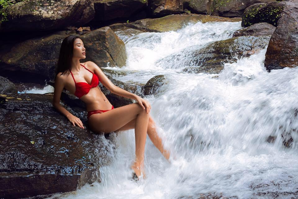 Chẳng biết vì sao mà cứ đi thi Hoa hậu Hoàn vũ là thân hình sao Việt này bỗng dưng trở nên khác hình bình thường? - Ảnh 2.