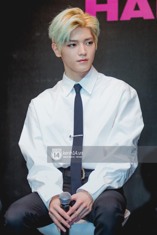 Mỹ nam Taeyong tiết lộ muốn ở lại Việt Nam, NCT 127 đồng loạt tỏ tình Anh yêu em với fan tại họp báo ở Hà Nội - Ảnh 4.