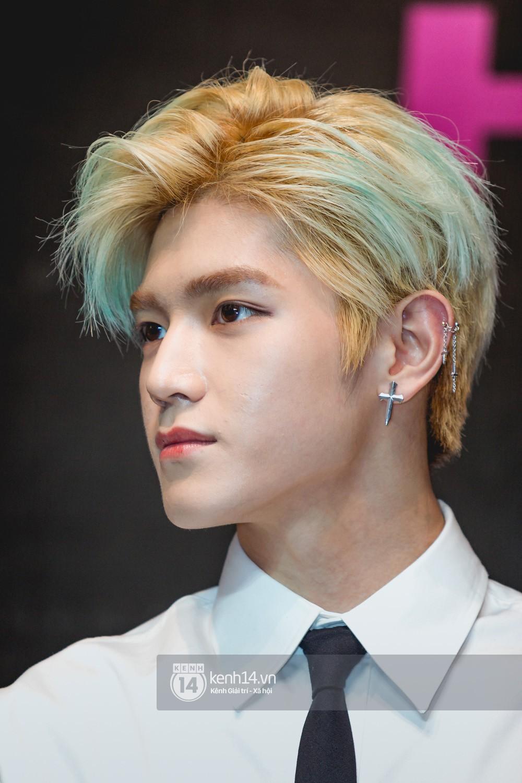 Mỹ nam Taeyong tiết lộ muốn ở lại Việt Nam, NCT 127 đồng loạt tỏ tình Anh yêu em với fan tại họp báo ở Hà Nội - Ảnh 6.