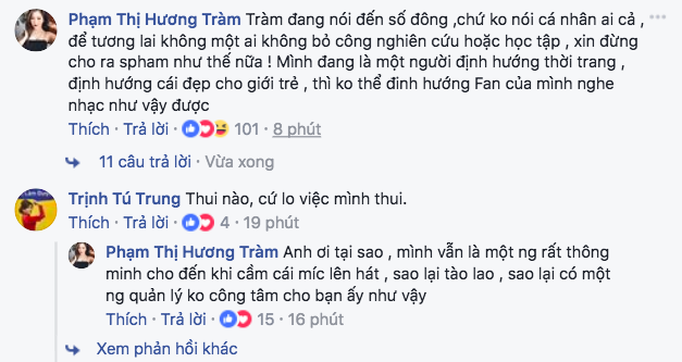 Khán giả đồng tình, đứng về phía Hương Tràm sau status đá đểu giọng hát của Chi Pu! - Ảnh 1.
