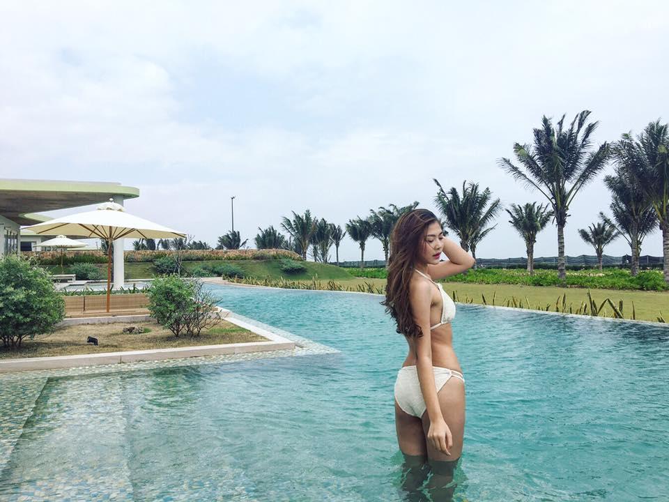 Chẳng biết vì sao mà cứ đi thi Hoa hậu Hoàn vũ là thân hình sao Việt này bỗng dưng trở nên khác hình bình thường? - Ảnh 17.