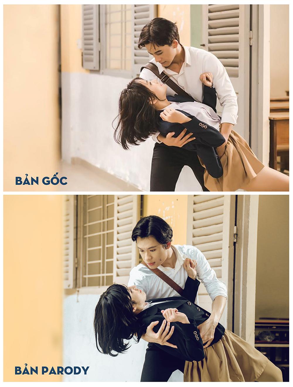 Huỳnh Lập gây bất ngờ vì hóa thân quá giống Hương Tràm trong MV Em gái mưa Parody - Ảnh 4.