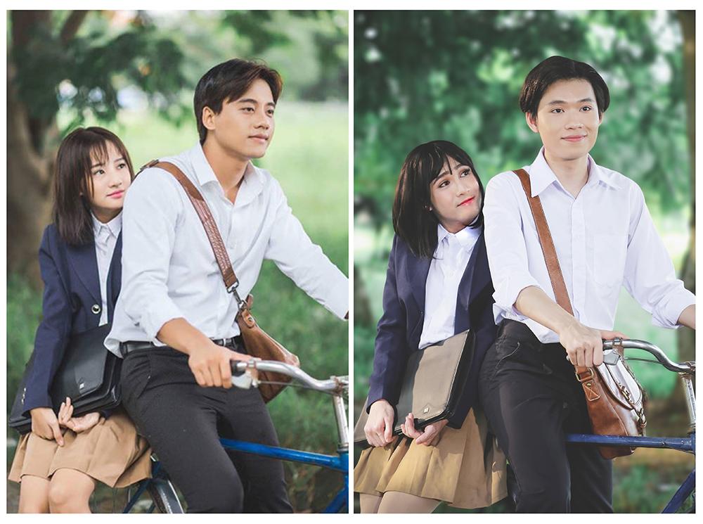 Huỳnh Lập gây bất ngờ vì hóa thân quá giống Hương Tràm trong MV Em gái mưa Parody - Ảnh 3.