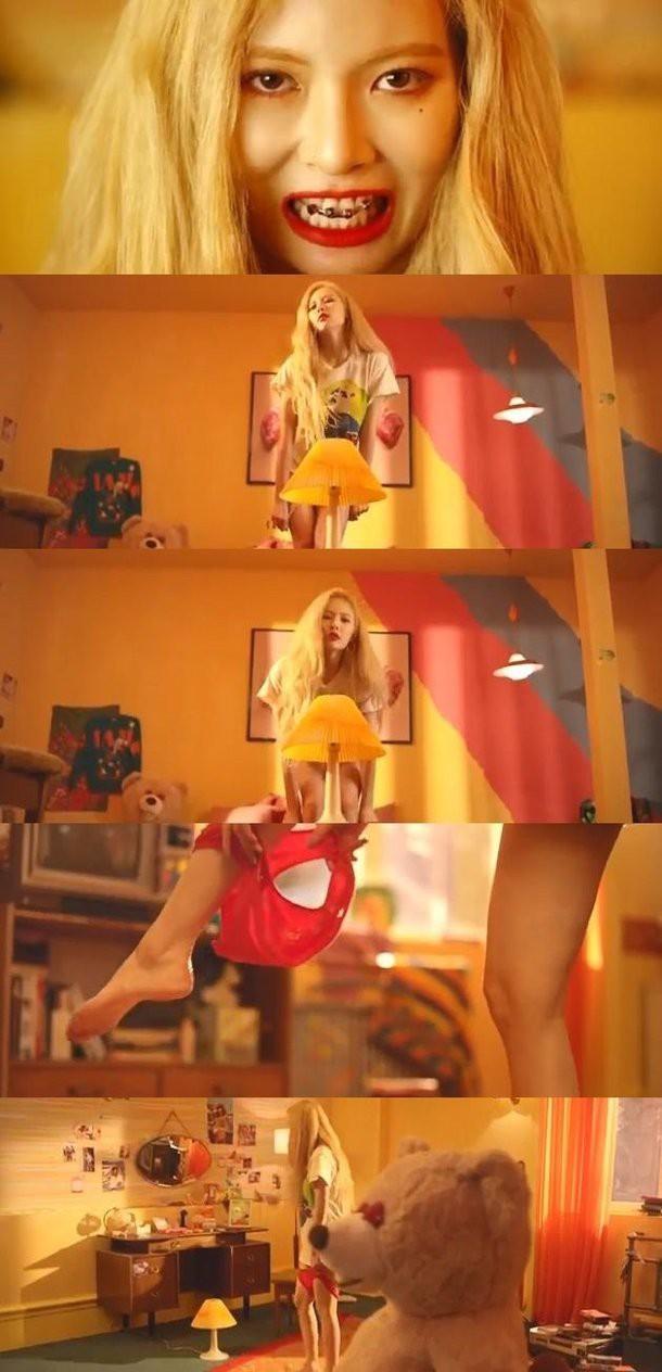 Netizen: HyunA cởi quần lót trong MV mới để làm gì vậy? - Ảnh 1.
