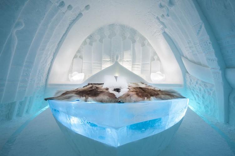 Ghé thăm khách sạn băng giá đẹp như cung điện mùa đông ở xứ Bắc Âu - Ảnh 21.