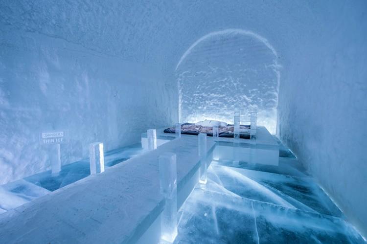 Ghé thăm khách sạn băng giá đẹp như cung điện mùa đông ở xứ Bắc Âu - Ảnh 27.