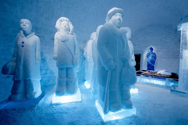 Ghé thăm khách sạn băng giá đẹp như cung điện mùa đông ở xứ Bắc Âu - Ảnh 17.