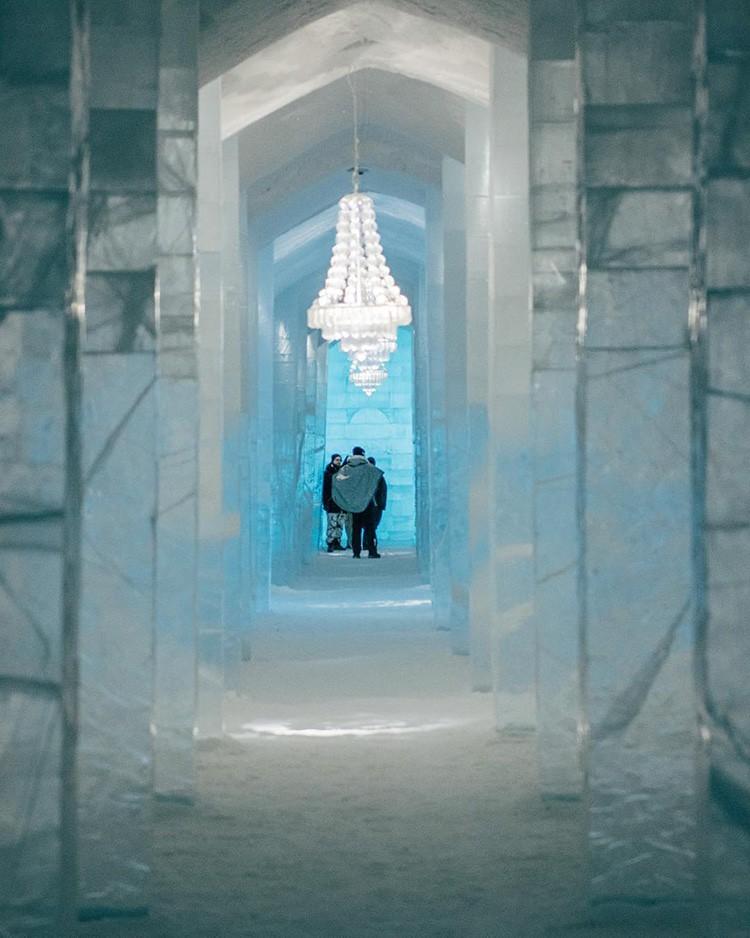 Ghé thăm khách sạn băng giá đẹp như cung điện mùa đông ở xứ Bắc Âu - Ảnh 13.