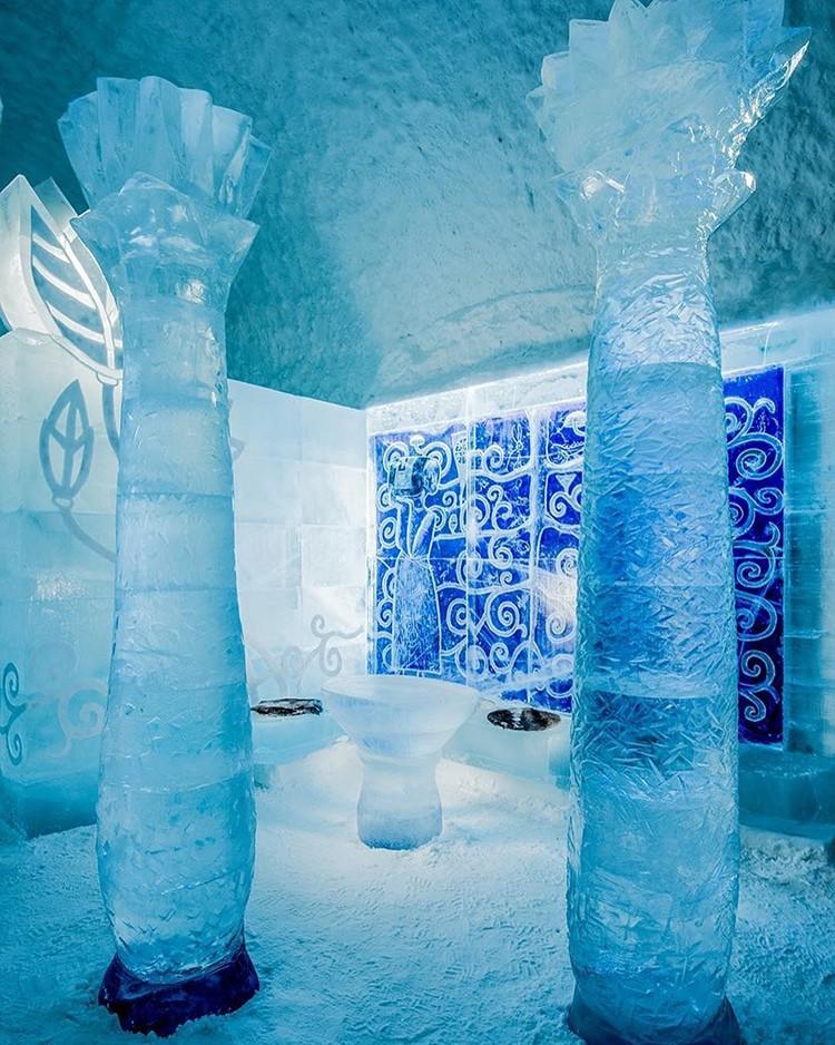 Ghé thăm khách sạn băng giá đẹp như cung điện mùa đông ở xứ Bắc Âu - Ảnh 15.