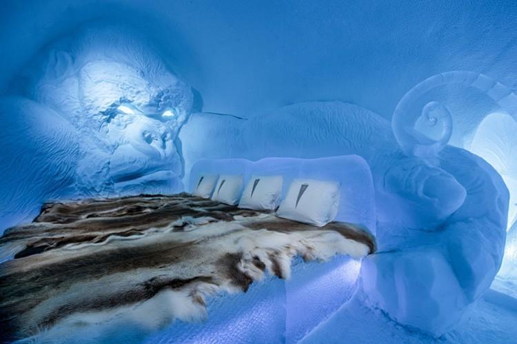 Ghé thăm khách sạn băng giá đẹp như cung điện mùa đông ở xứ Bắc Âu - Ảnh 23.