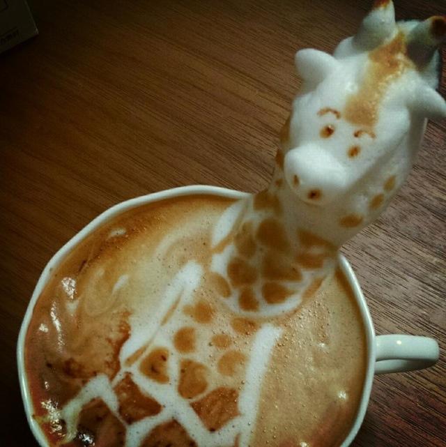 15 tác phẩm tranh vẽ latte khiến hội ghiền cà phê thích mê - Ảnh 25.