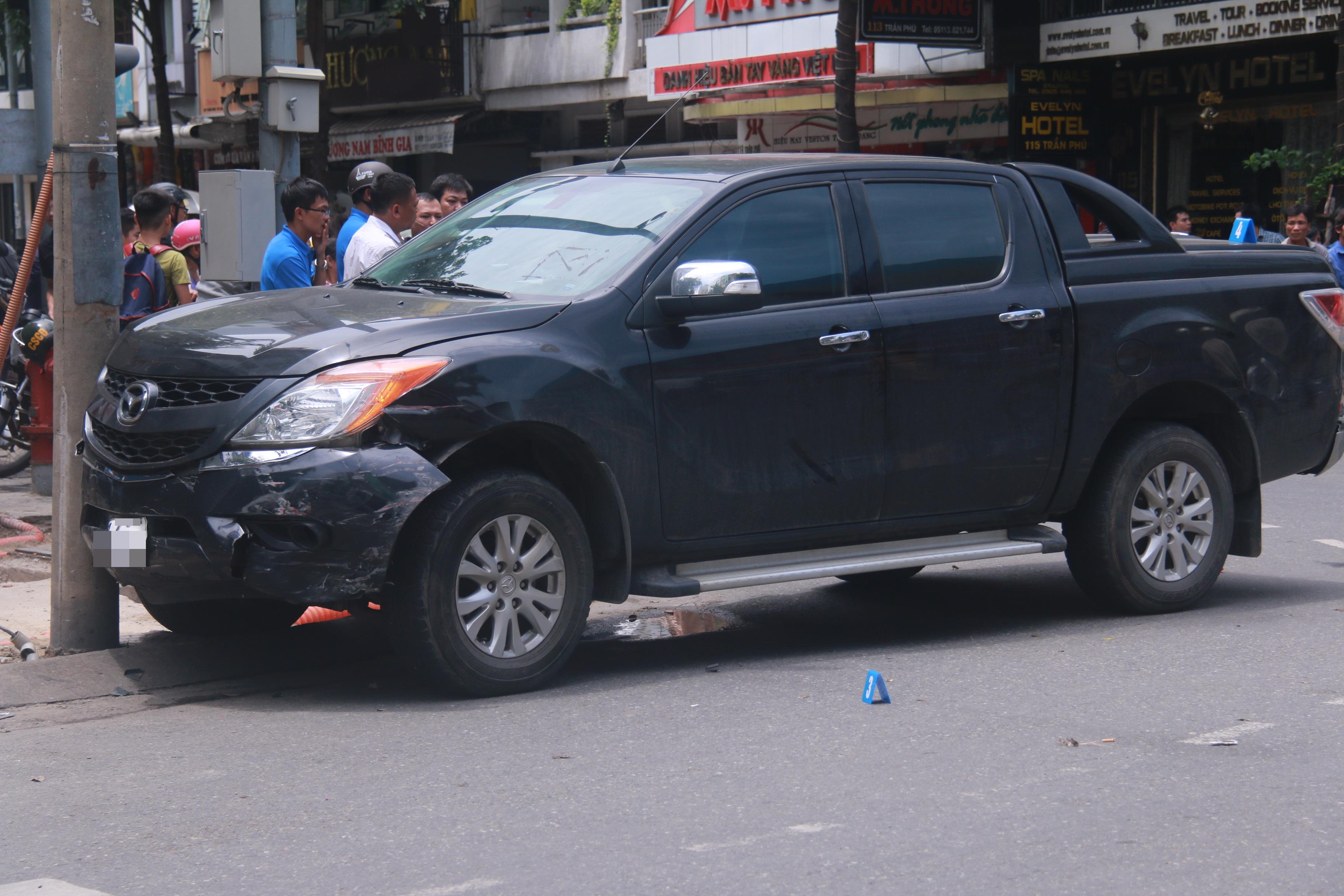 Tai nạn liên hoàn giữa trung tâm Đà Nẵng, 3 người thương vong - Ảnh 3.