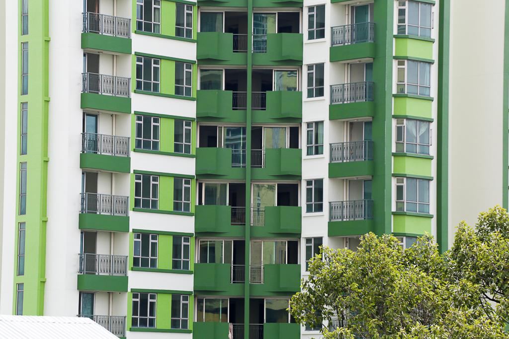 Cao ốc Thuận Kiều Plaza bỏ hoang bỗng lột xác với màu xanh lá nổi bật tại trung tâm Sài Gòn - Ảnh 4.