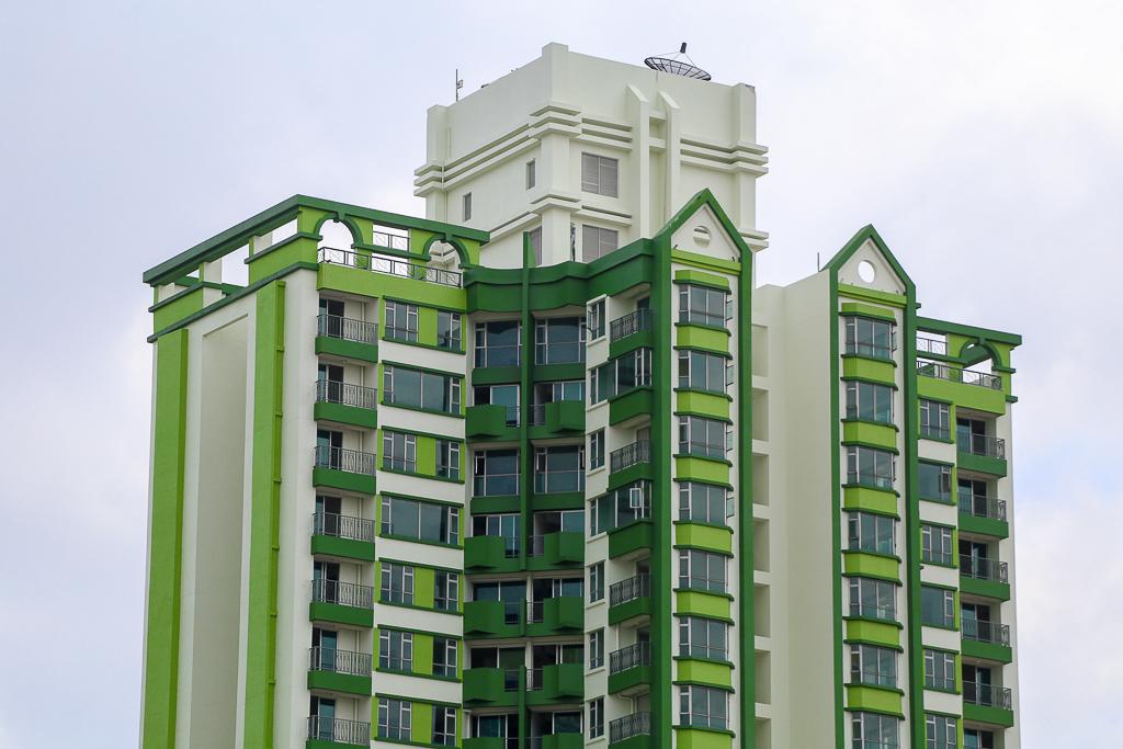 Cao ốc Thuận Kiều Plaza bỏ hoang bỗng lột xác với màu xanh lá nổi bật tại trung tâm Sài Gòn - Ảnh 5.