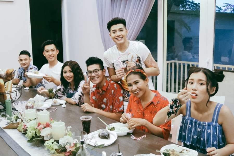 Hậu Giọng hát Việt, Noo Phước Thịnh ra mắt MV kỉ niệm đậm chất mùa hè cùng học trò - Ảnh 6.
