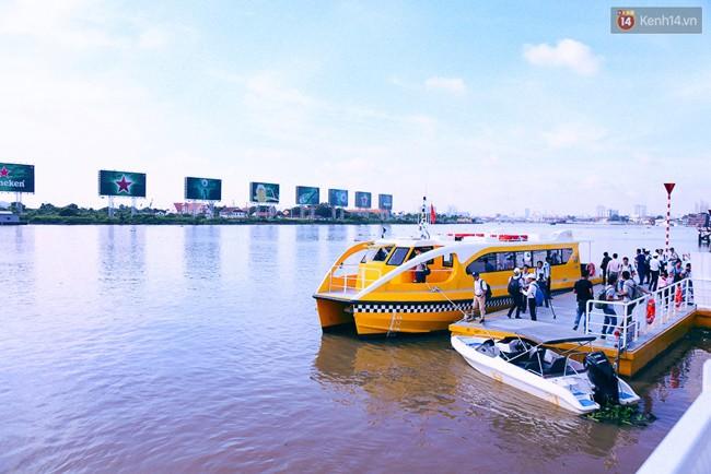 Người Sài Gòn sẽ được đi buýt đường sông miễn phí trong 10 ngày đầu tiên sau khai trương - Ảnh 1.