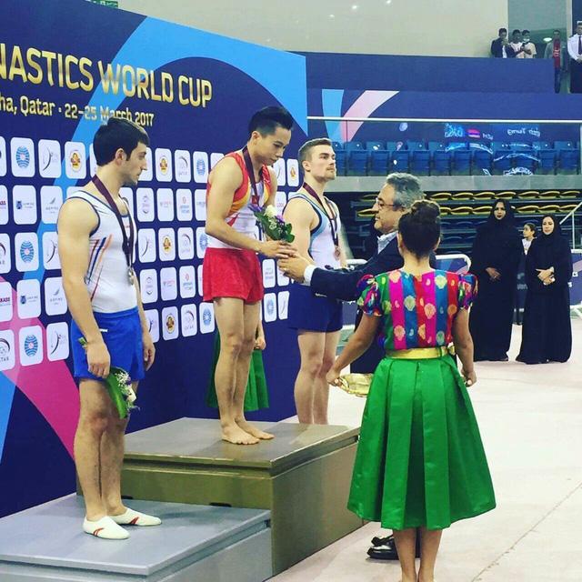 Việt Nam xuất sắc giành HCV tại Cúp Thể dục dụng cụ thế giới 2017 - Ảnh 3.