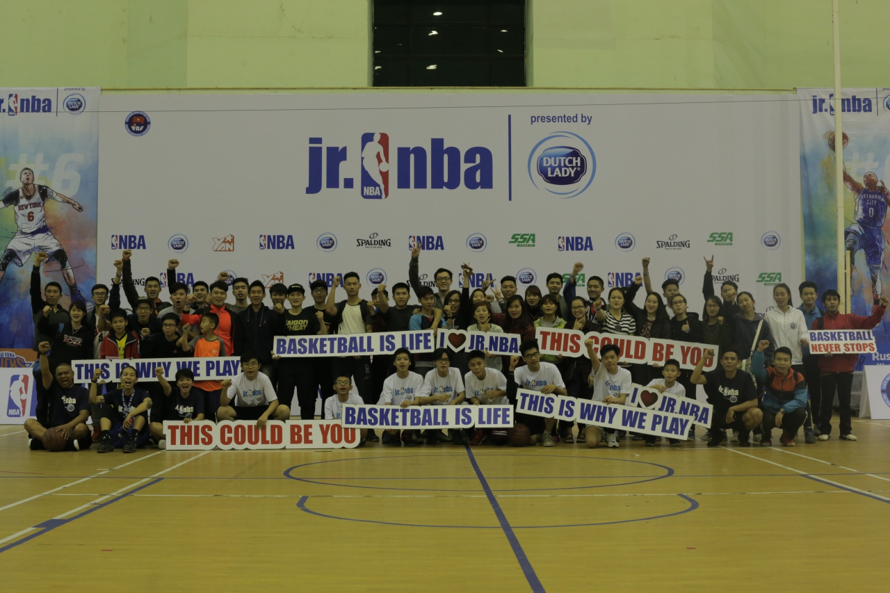 Gần 1000 em nhỏ tham dự hội trại tuyển chọn Jr. NBA 2017 tại thủ đô Hà Nội - Ảnh 3.