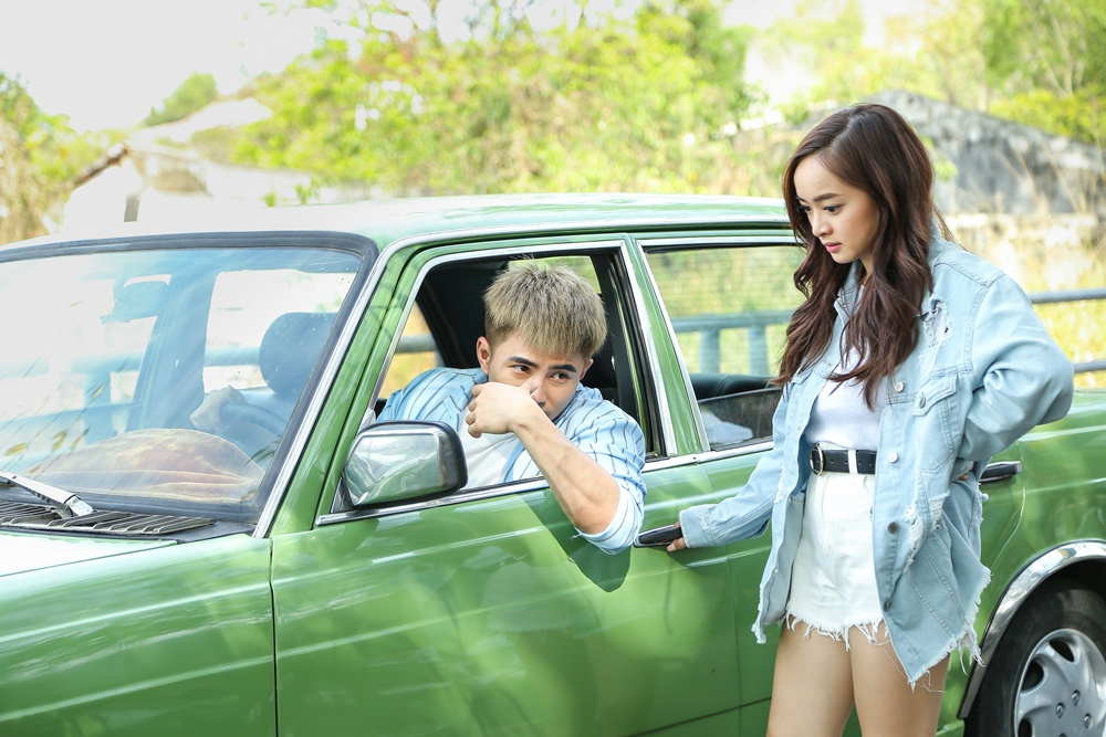 Will - Kaity Nguyễn cứ hở ra là... hôn nhau và ngọt ngào thế này trên phim trường! - Ảnh 6.