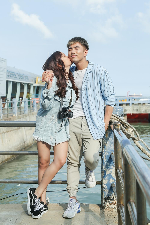 Will - Kaity Nguyễn cứ hở ra là... hôn nhau và ngọt ngào thế này trên phim trường! - Ảnh 13.