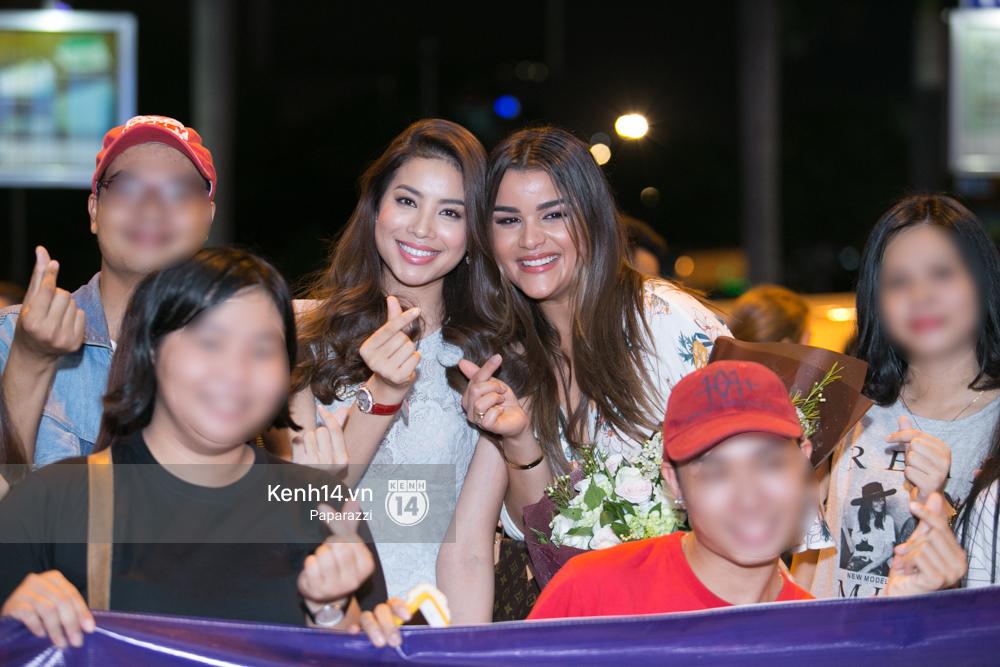 Hai năm gặp lại, Phạm Hương và bạn thân Hoa hậu người Dominica, ai đẹp hơn? - Ảnh 6.