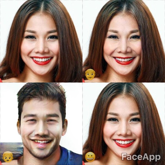Dùng FaceApp kiểm tra xem sao Việt nào đẹp lão nhất - Ảnh 5.