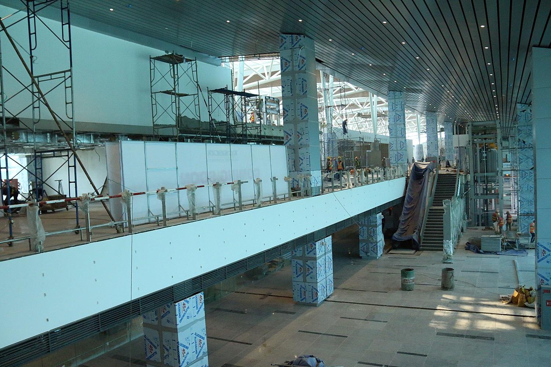 Cận cảnh nhà ga hành khách quốc tế hơn 3.500 tỷ đồng sắp hoàn thành ở Đà Nẵng - Ảnh 19.
