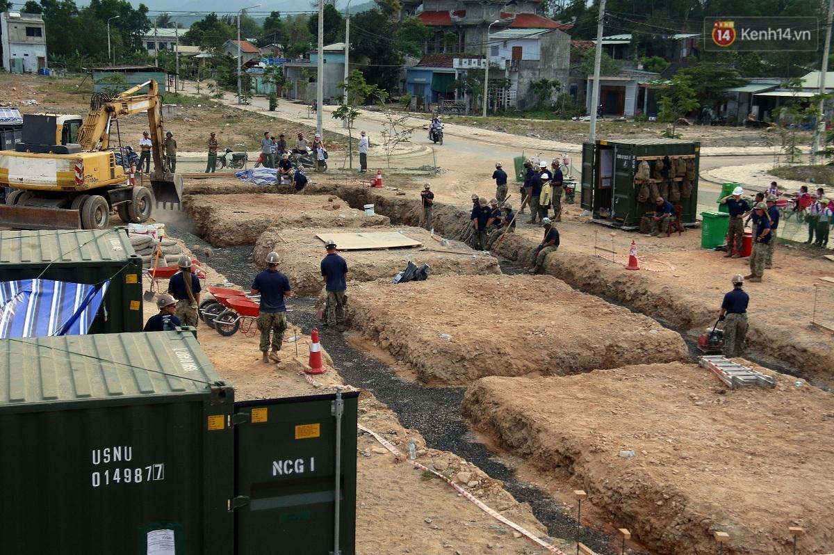 Hải quân Mỹ - Nhật dầm mình trong nắng, góp 1.500 ngày công để xây trường mầm non cho trẻ em Đà Nẵng - Ảnh 5.
