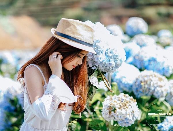 Cánh đồng hoa cẩm tú cầu đẹp mê hồn sẽ là điểm đến hot nhất ở Đà Lạt những ngày tới! - Ảnh 3.