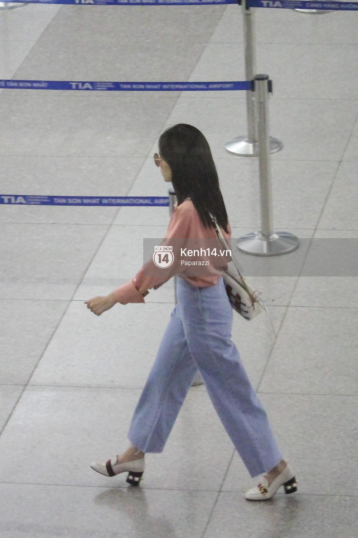 Chi Pu xuất hiện giản dị ở sân bay, sang Thuỵ Điển tham quan trụ sở đầu tiên của H&M - Ảnh 5.