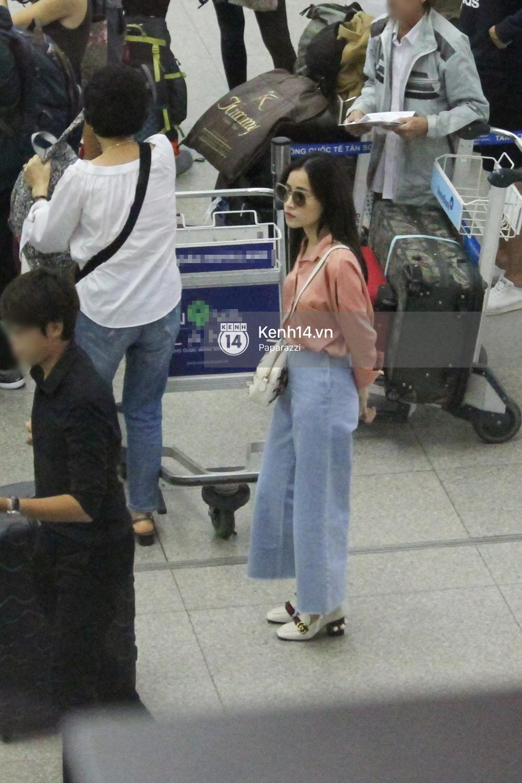 Chi Pu xuất hiện giản dị ở sân bay, sang Thuỵ Điển tham quan trụ sở đầu tiên của H&M - Ảnh 6.
