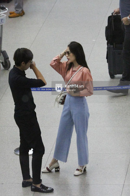 Chi Pu xuất hiện giản dị ở sân bay, sang Thuỵ Điển tham quan trụ sở đầu tiên của H&M - Ảnh 12.